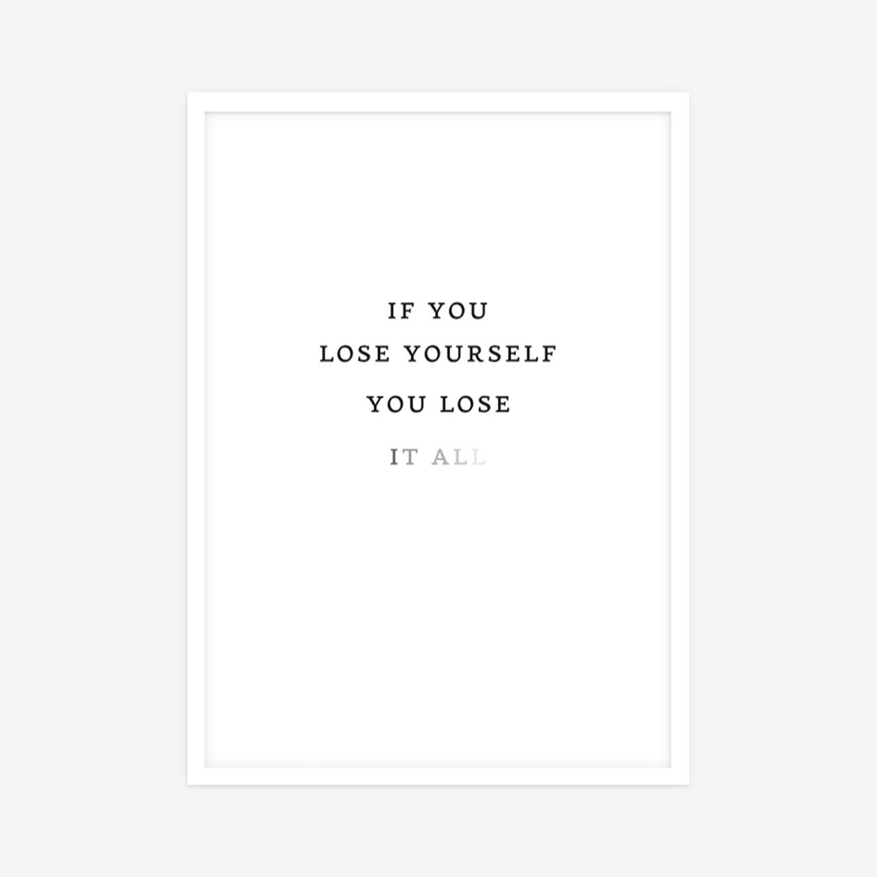 Loose Yourself poster