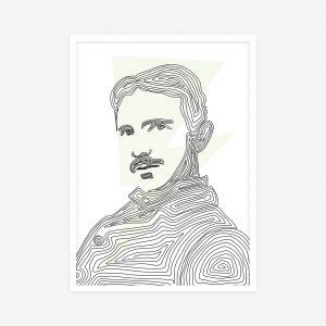 Hvala vam, znanstvenici: Nikola Tesla   poster koji svijeti u mraku