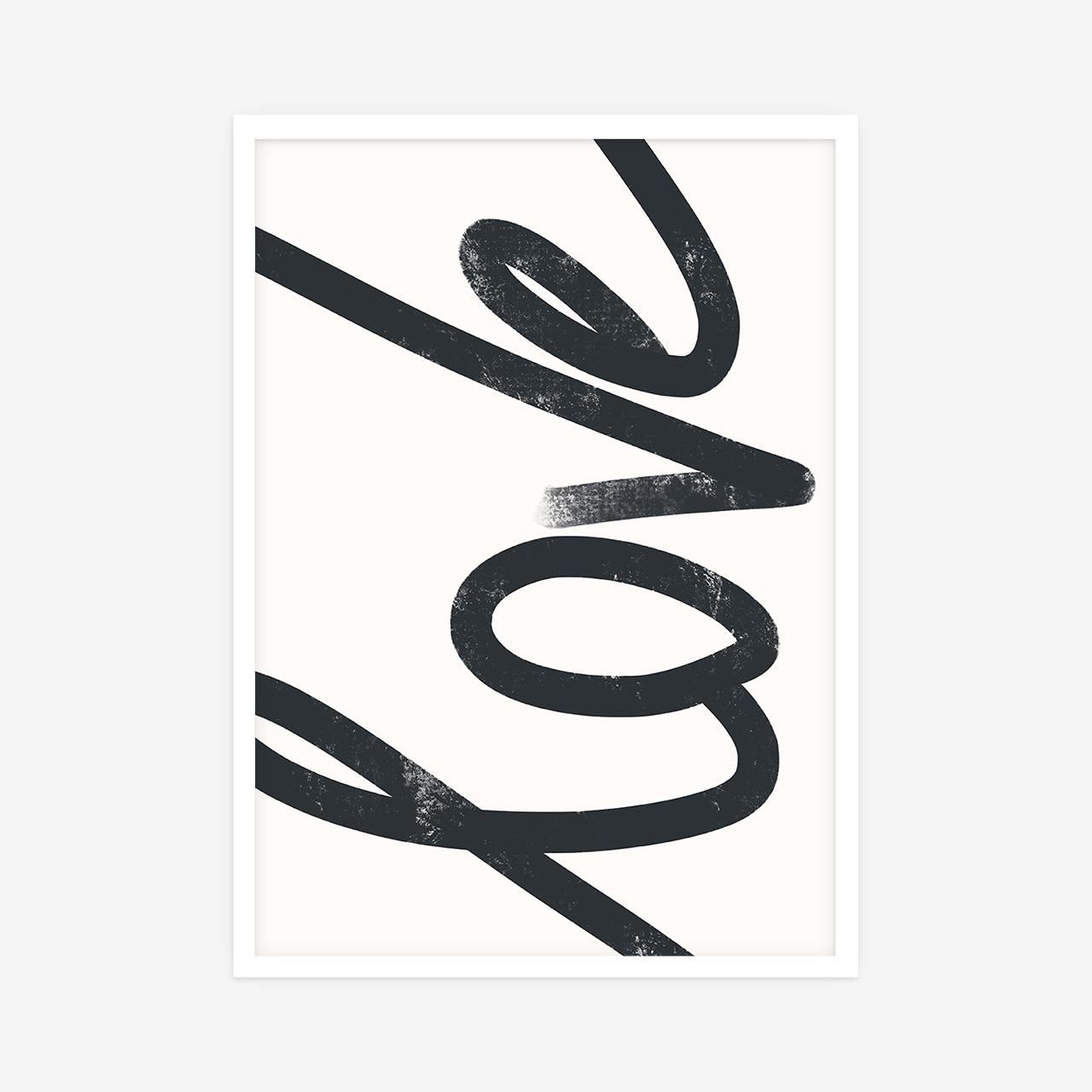 Love Typo poster