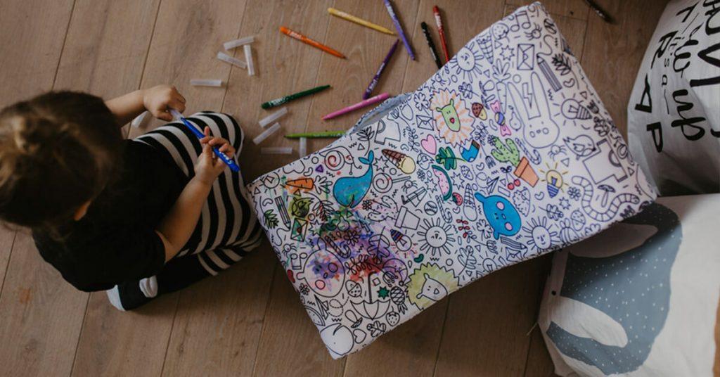 dijete boja interaktivni dječji stolac