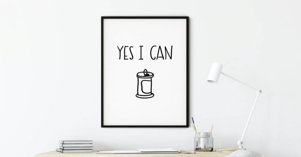 yes i can poster na zidu